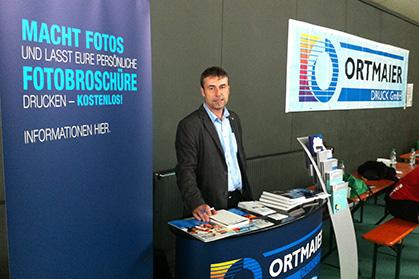Ortmaier Druck GmbH war bei B2Soccer in Rosenheim vor Ort.